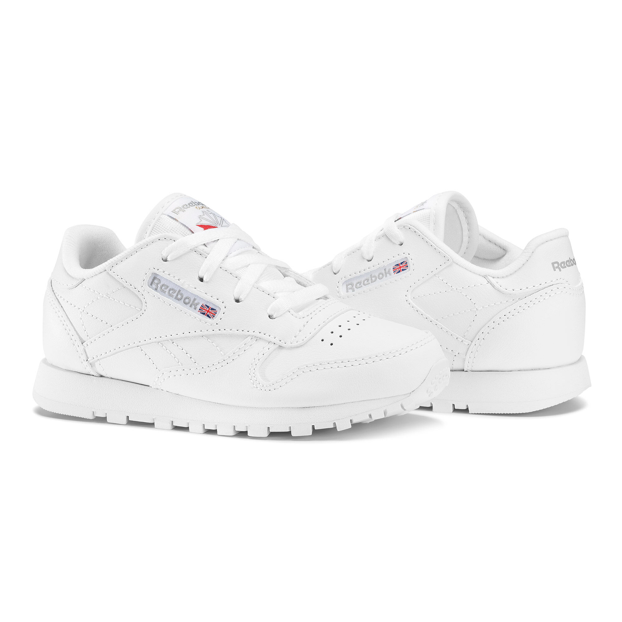 Reebok Femme Chaussures / Baskets CL Leather Girl Squad blanc 36.5 ANn130vLp