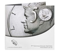 50th Anniversary Kennedy 2014 Half-Dollar Uncirculated Coin Set