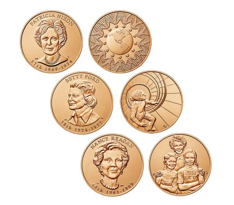 First Spouse Bronze Medal Series Three Medal Set Enrollment,  image 2