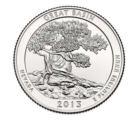 Great Basin National Park 2013 Quarter, 3-Coin Set,  image 4