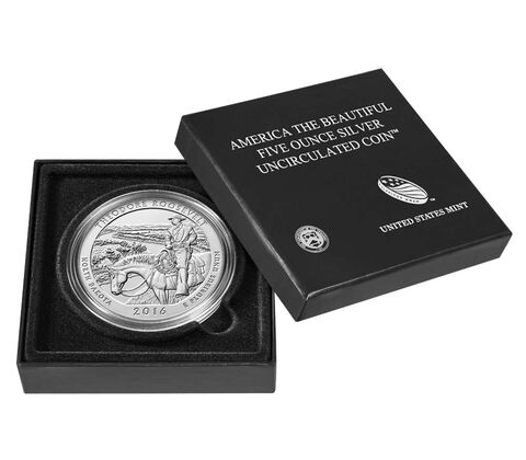 America the Beautiful Uncirculated Five Ounce Silver Coin Enrollment,  image 4
