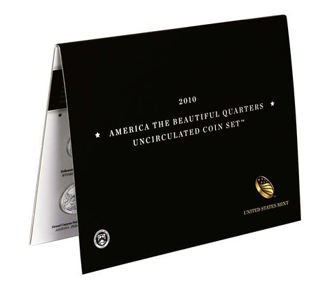 America the Beautiful Quarters 2010 Uncirculated Coin Set,  image 2
