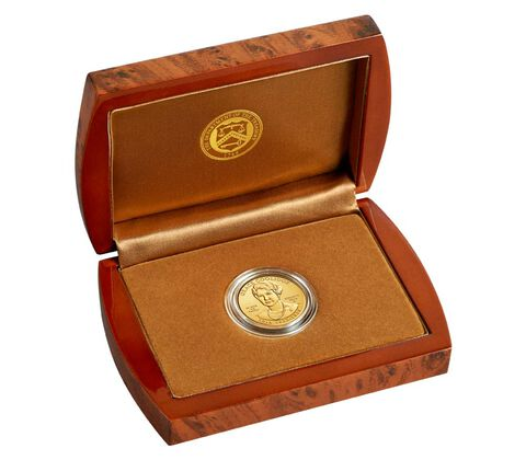 Grace Coolidge 2014 First Spouse Series One-Half Ounce Gold Uncirculated Coin,  image 3