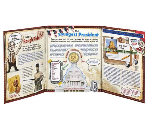 Theodore Roosevelt 2013 Presidential Discovery Set,  image 3