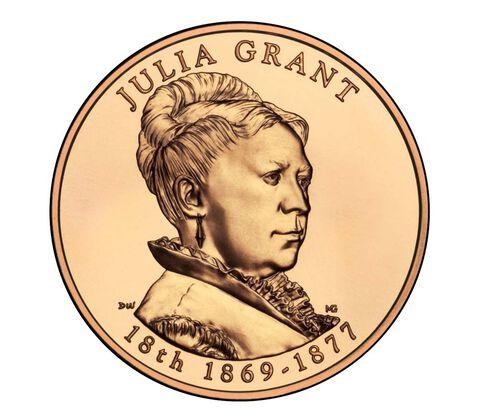 Julia Grant 2011 Bronze Medal 1 5/16 Inch
