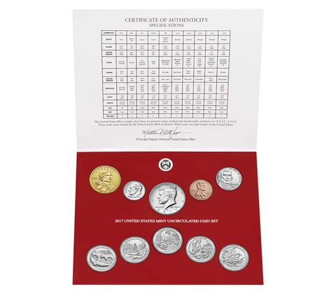 Uncirculated Coin Set Enrollment,  image 2