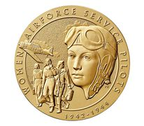 Women Airforce Service Pilots (WASP) Bronze Medal 1.5 Inch