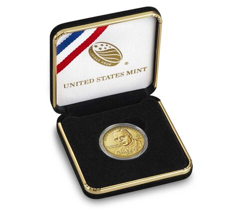 Boys Town Centennial 2017 Uncirculated $5 Gold Coin,  image 4