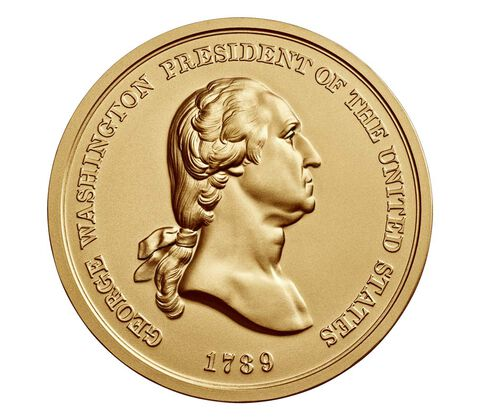 George Washington Bronze Medal 3 Inch