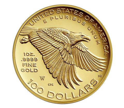 American Liberty 225th Anniversary Gold Coin,  image 2