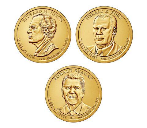Presidential $1 Three-Coin Set Enrollment,  image 2