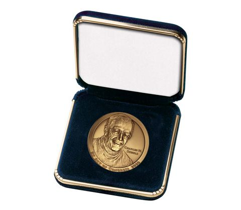 "Blue Presentation Case for 1.5"" Medal"