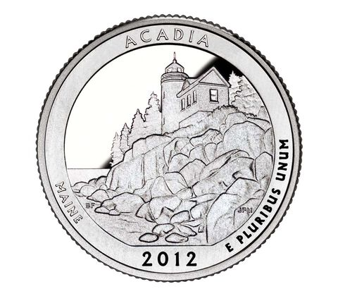 Acadia National Park 2012 Quarter, 3-Coin Set,  image 2