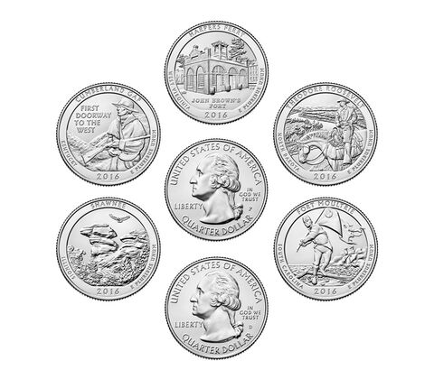 America the Beautiful Quarters Circulating Coin Set Enrollment,  image 2