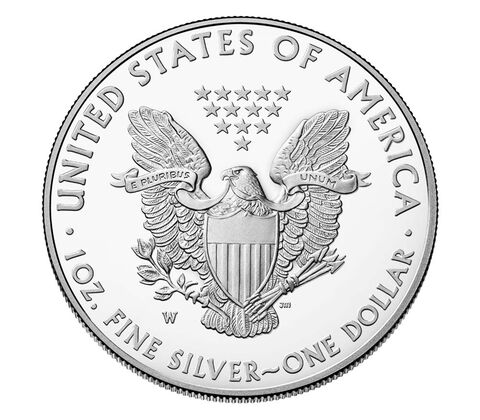 American Eagle 2017 One Ounce Silver Proof Coin,  image 2