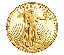American Eagle 2016 One-Tenth Ounce Gold Proof Coin