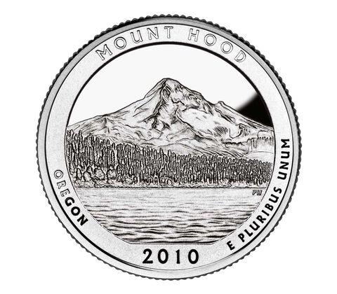 Mount Hood National Forest 2010 Quarter, 3-Coin Set,  image 2