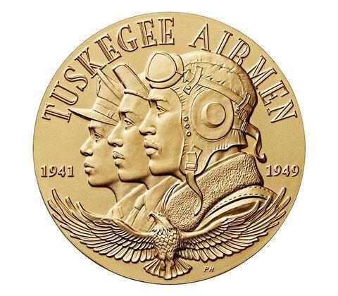 Tuskegee Airmen Bronze Medal 3 Inch