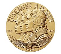 Tuskegee Airmen Bronze Medal 1.5 Inch