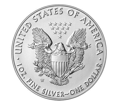 American Eagle 2016 One Ounce Silver Uncirculated Coin,  image 2