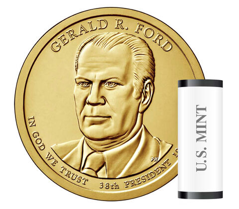Gerald Ford Presidential 2016 Rolls, Bags and Boxes