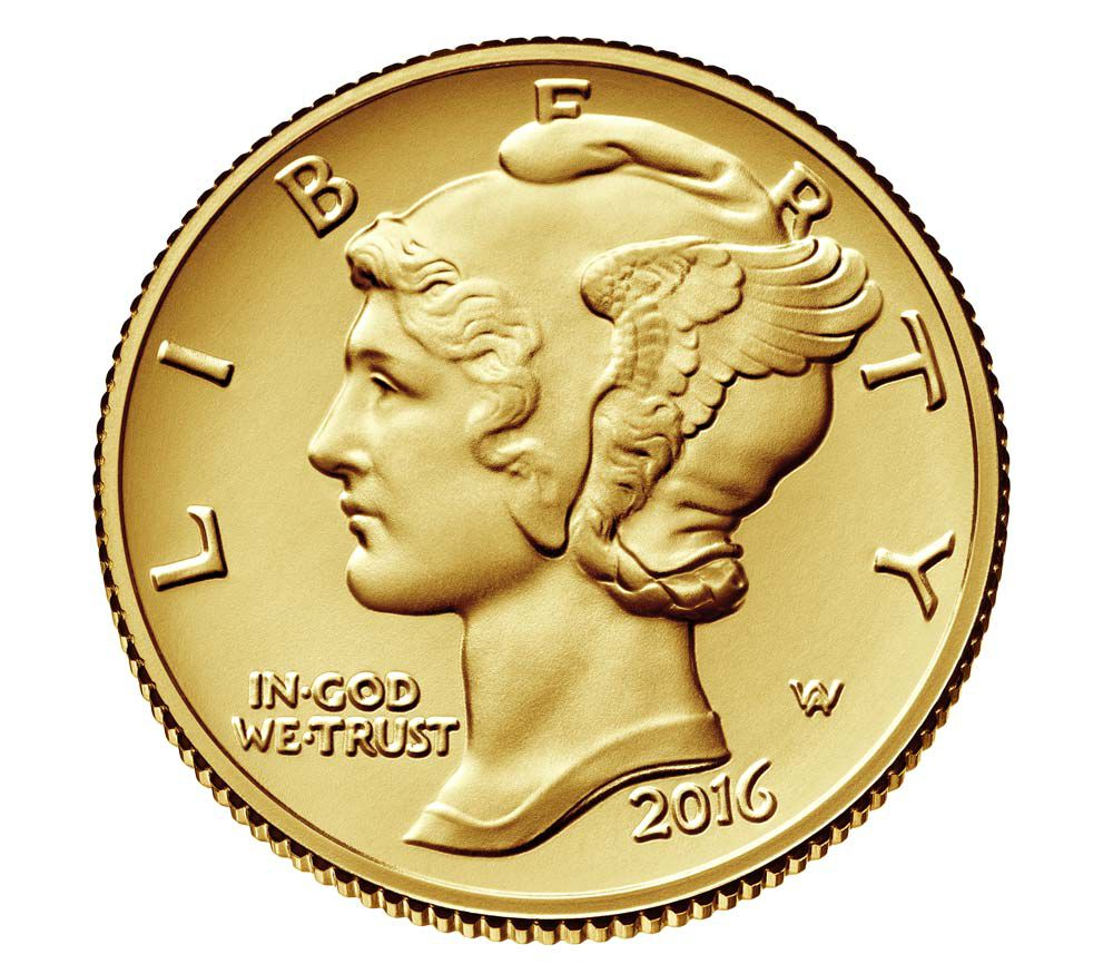 mercury dime centennial gold coin us mintgov