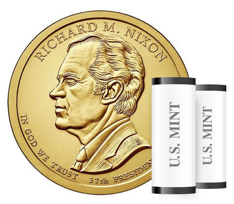 Presidential $1 Coin Two-Roll Set Enrollment