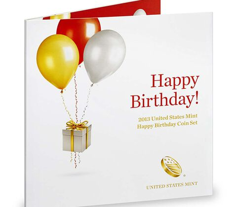 Happy Birthday Coin Set 2013,  image 2