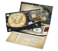 American $1 Coin and Currency Set 2016