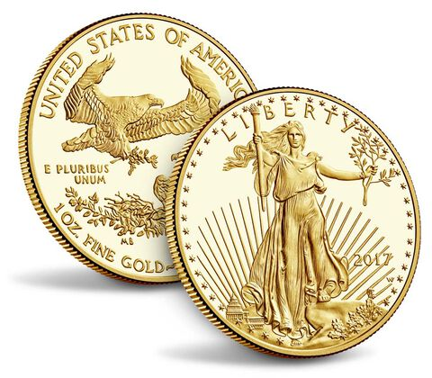 American Eagle 2017 One Ounce Gold Proof Coin,  image 3