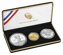 100th Anniversary of the National Park Service 2016 Three-Coin Proof Set