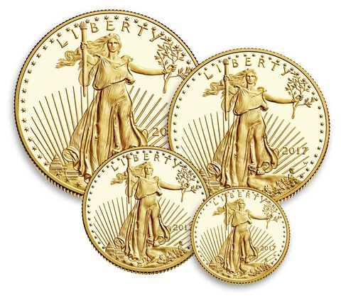 American Eagle 2017 Gold Proof Four-Coin Set,  image 2