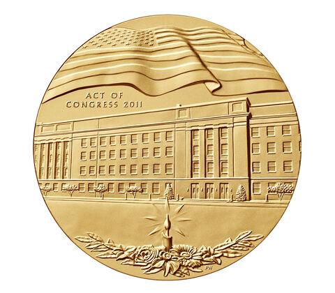 Fallen Heroes of VA Bronze Medal 1.5 Inch