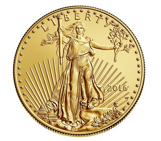 American Eagle 2016 One Ounce Gold Uncirculated Coin