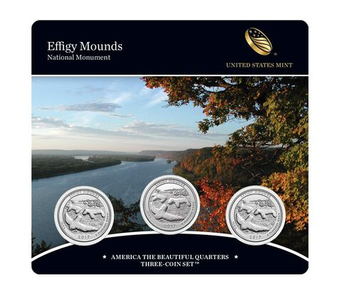 America the Beautiful Quarters 3-Coin Set Enrollment,  image 1