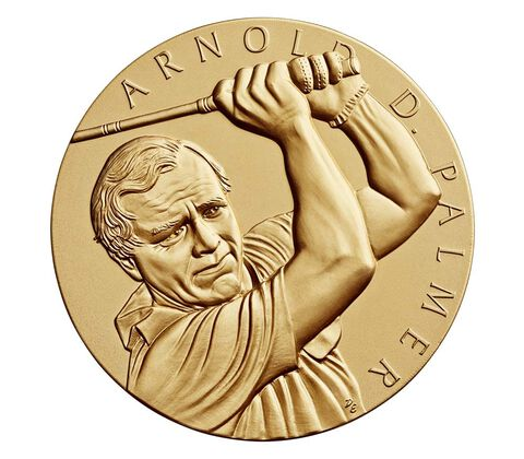 Arnold Palmer Bronze Medal 1.5 Inch