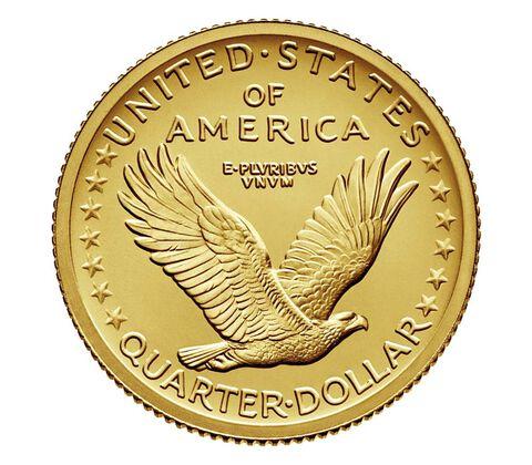 Standing Liberty 2016 Centennial Gold Coin,  image 2
