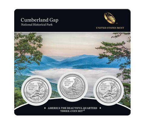 America the Beautiful Quarters 3-Coin Set Enrollment