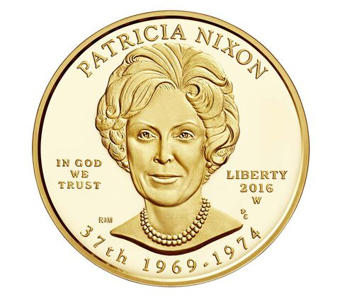 Patricia Nixon 2016 First Spouse Series One-Half Ounce Gold Proof Coin