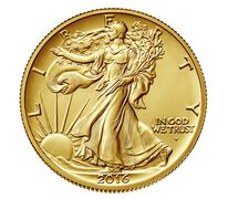 Walking Liberty 2016 Centennial Gold Coin
