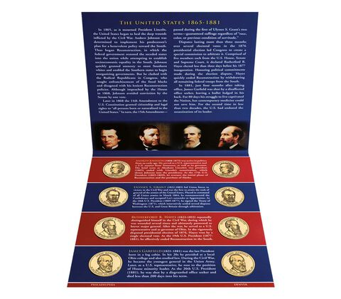 Presidential $1 Coin 2011 Uncirculated Set