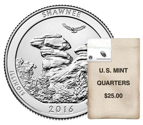 America the Beautiful Quarters 100-Coin Bag Enrollment
