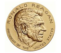 Ronald Reagan Bronze Medal 3 Inch