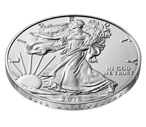 American Eagle 2016 One Ounce Silver Uncirculated Coin,  image 3