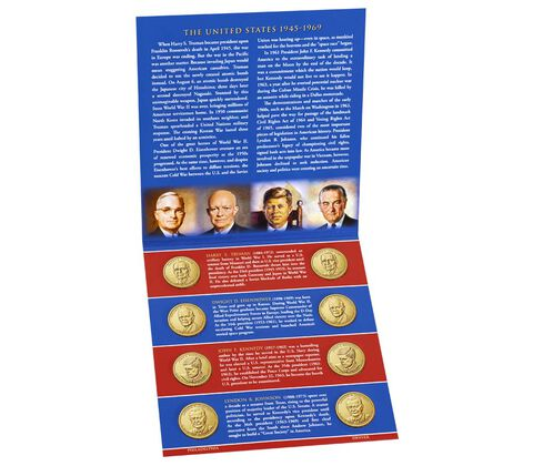 Presidential $1 Coin 2015 Uncirculated Set