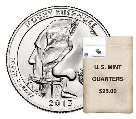 Mount Rushmore National Memorial 2013 Rolls and Bags
