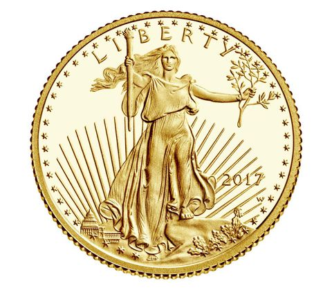 American Eagle 2017 One-Tenth Ounce Gold Proof Coin,  image 1