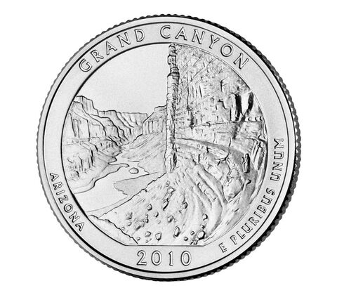 Grand Canyon National Park 2010 Quarter, 3-Coin Set,  image 3
