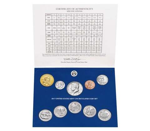 Uncirculated Coin Set Enrollment,  image 3