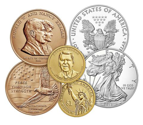 2016 Coin & Chronicles Set - Ronald Reagan,  image 4